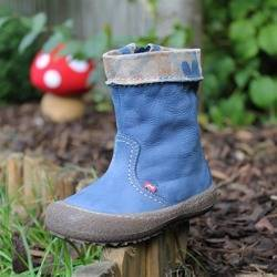 Emel Blue Nubuck/suede leather Boots E1994a/k