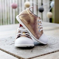 Emel Metallic Pink Leather Casual Shoes E2434