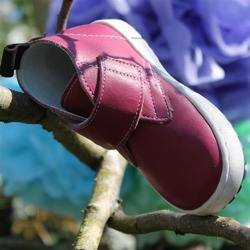 Emel Raspberry Red Leather Casual Shoes 2470-9