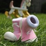 Attipas AD05-S Polka Dot Shoes US 3.5 Gray Small