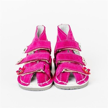 DANIEL FUCHSIA LEATHER SHOES WZ S124