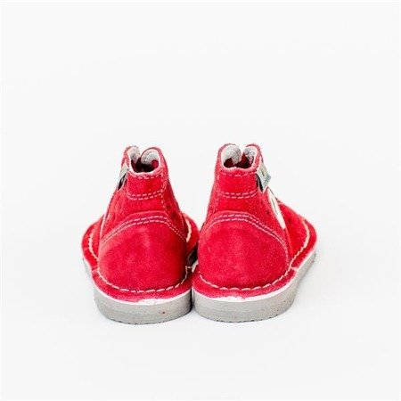 DANIEL RED LEATHER SHOES   WZ S28