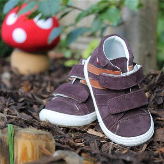 Emel Brown/Beige Suede Casual Shoes 2575-4