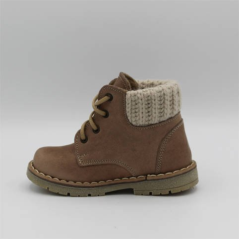 Emel Brown Suede Ankle Boots E2540-11