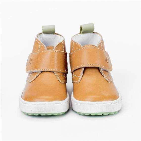 Emel Camel Yellow Leather Casual Shoes E2470-14