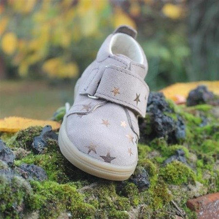 MRUGALA IVORY LEATHER TODDLER SHOES 5115-20