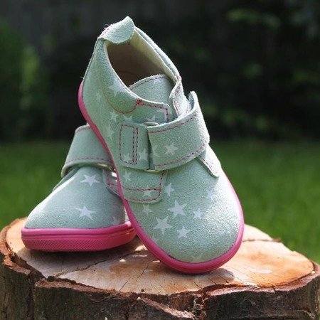 MRUGALA MINT LEATHER TODDLER SHOES 5115-60